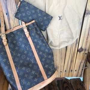 LV Large over the shoulder bag